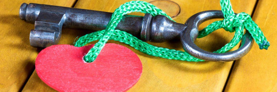 Schlüssel mit Herz