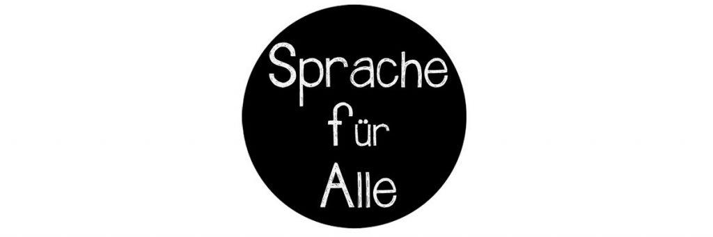 Logo Sprache für alle